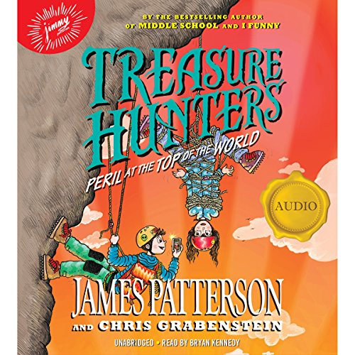 Treasure Hunters: Peril at the Top of the World audiobook cover art