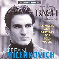 J.S. バッハ:無伴奏ヴァイオリンのためのソナタとパルティータ BWV 1001 - 1006(ミレンコヴィッチ)