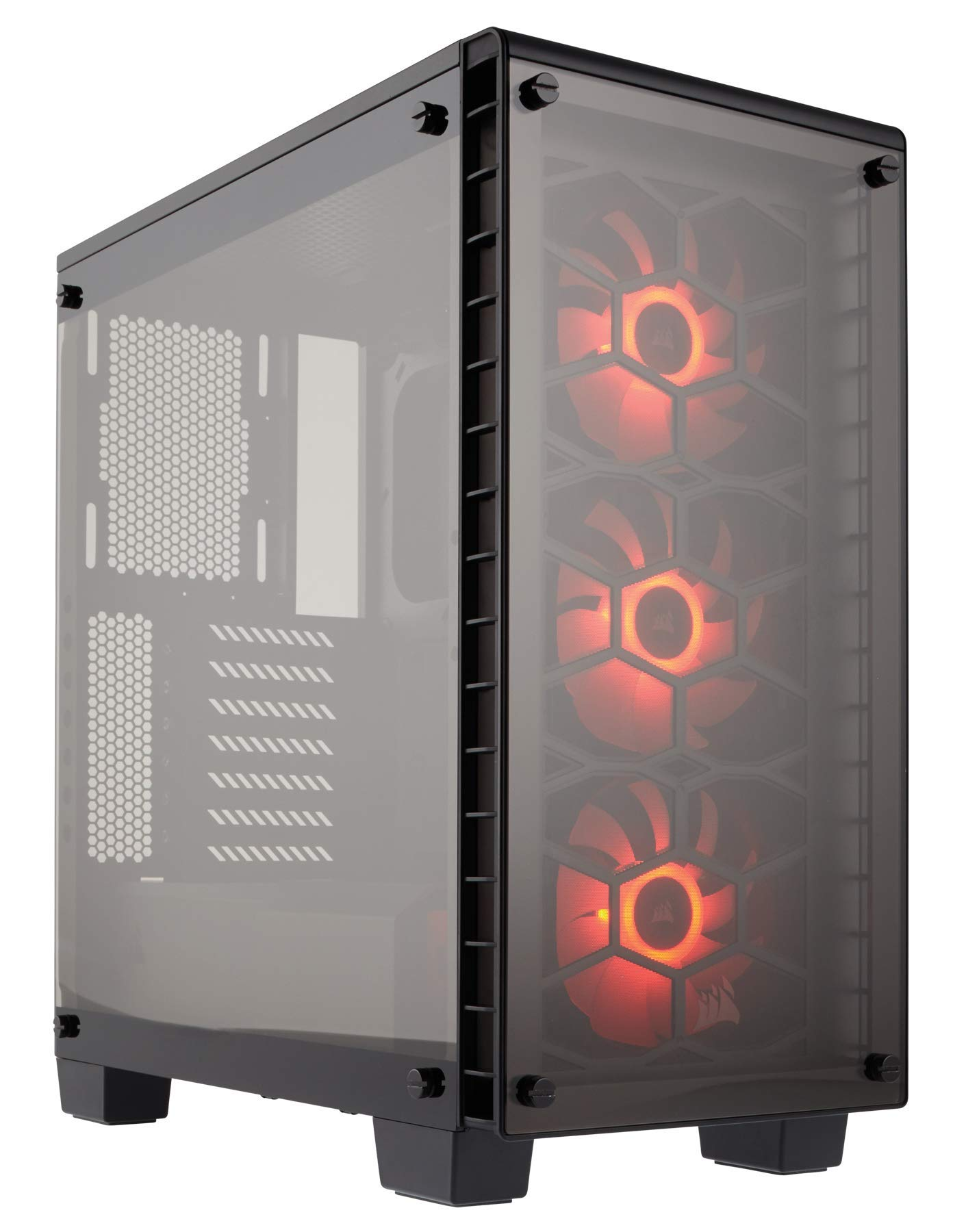 Corsair Crystal 460X RGB - Caja de PC, Mid-Tower ATX compacto ...