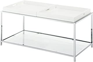 Convenience Concepts Palm Beach Coffee Table, White