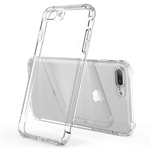 eb70f5a4da3 HZRICH Clear Shockproof-Ultra Light Soft TPU Silicon Case Cover Skin  With  Free Glass