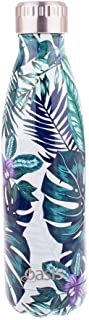 NEW OASIS DRINK BOTTLE 500ml Double Wall Insulated Thermal Hot Cold TROPICAL PARADISE