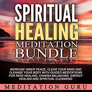 Spiritual Healing Meditation Bundle audiobook cover art