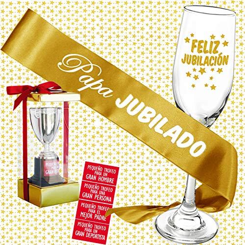 Inedit Festa Jubilación Plan de Jubilación Fiesta Jubilación Banda Feliz Jubilado Mini Trofeo Al Mejor