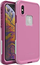 Lifeproof FRĒ SERIES Waterproof Case for iPhone Xs - Retail Packaging - FROST BITE (ORCHID/PURPLE WINE/FAIR AQUA)