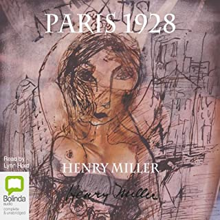 Paris 1928 audiobook cover art