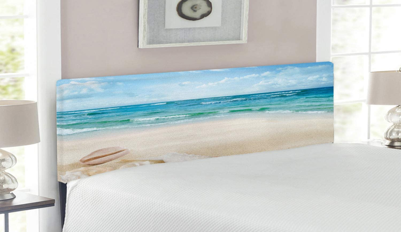 Lunarable Ocean Headboard Discount is Max 73% OFF also underway Beach Sand Waves Desig Marine Sealife