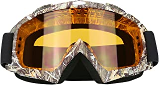 JAMIEWIN Adult Motorcycle Motocross Goggles ATV Racing Goggles Dirt Bike Mx Goggle..