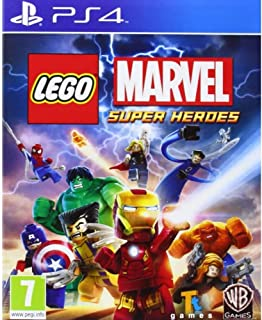 Lego Marvel Super Heroes by WB Games (PS4)