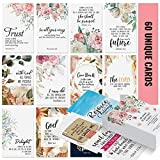 Dessie Prayer Cards - 60 Mini Scripture Cards with Assorted Bible Verses. Perfect for Women's Bible Studies, Daily Devotional for Women and Inspirational Christian Gift for Women by Dessie