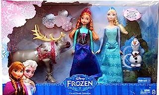Frozen Exclusive Doll Set Friends Collection [Anna, Elsa, Olaf & Sven]