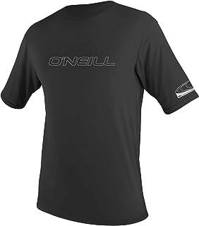 O'Neill Wetsuits Men's Men's Basic Skins Short Sleeve Sun Shirt Rash Vest