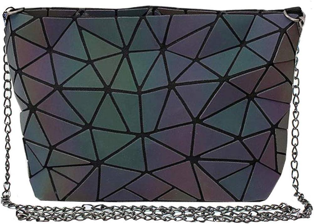 Sherry Limited price Handbag Fashion Holographic Shoulder Laser Geometric Bag Ranking TOP18