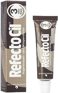 RefectoCil Cream Hair Dye (NATURAL BROWN) .5oz