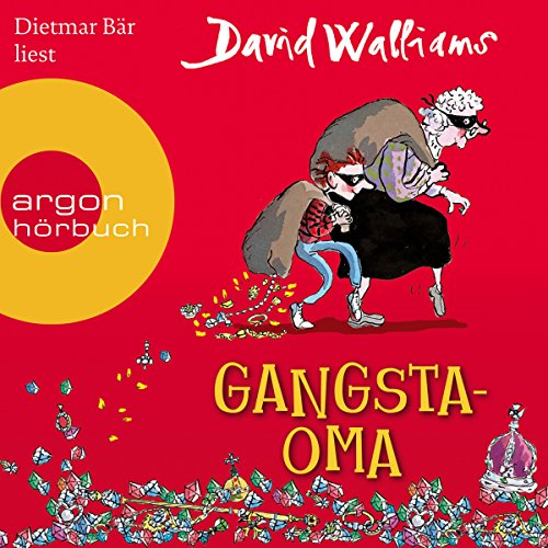 Gangsta-Oma audiobook cover art