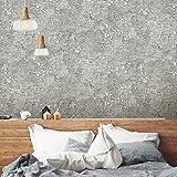 RoomMates RMK10836WP Empire Metallic Gray Peel and Stick Wallpaper