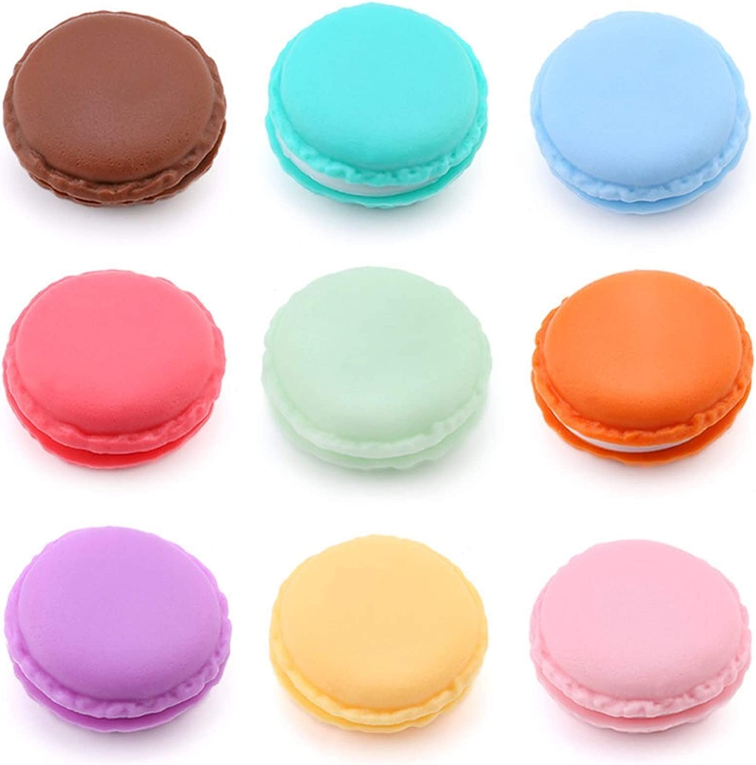 WjDmY Candy Color Macarons Storage Gift Fees free Portable service Mini Box Packag