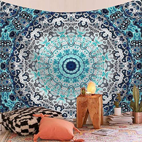 WERT Patrón de Mandala Tapiz Indio decoración Colgante de Pared Elefante Toalla de Playa Bohemia Manta Fina Estera de Yoga A19 200x150cm