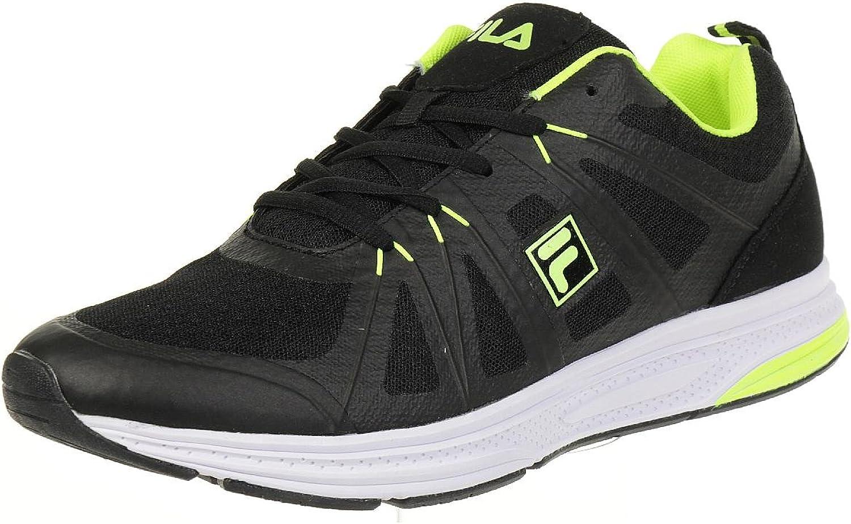 Fila Colt Low Run Men Running Trainers Sneakers fitness black