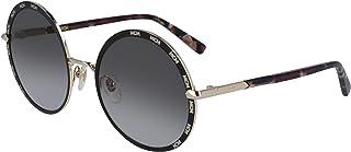 ام سي ام نظارة شمسية دائري للنساء - اسود , MCM127S-001-55