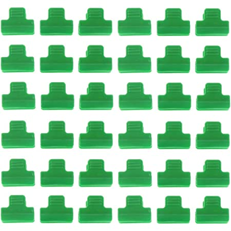 CoscosX 60 PCS Shade Cloth Clips Bird Netting Mounting Clips Greenhouse Steel Wire Pressure Film Clips Gardening Clips for Sun Shade Netting,Anti Bird Netting,Garden Netting,Shade Fabric Accessories