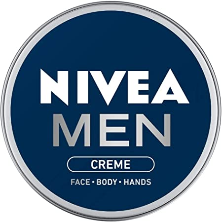 NIVEA Men Crème, Non Greasy Moisturizer, Cream for Face, Body & Hands, 30 ml