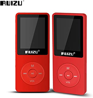 Fibest 2017 100% Original English Version Ultrathin MP3 Player with 8GB Storage and 1.8 Inch Screen can Play 80h, Original...