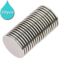 Stritra - N52 Strong Permanent Neodymium Rare Earth NdFeB Round Thin Magnets Disc for Craft, Science and DIY 1.26