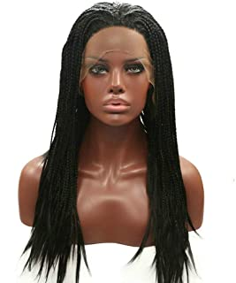 Amazon.co.uk: braided wigs for black women