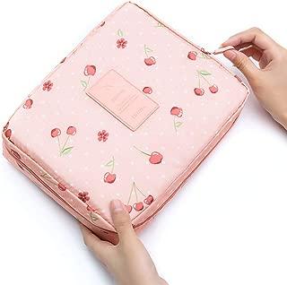 Bageek Cosmetic Bag Makeup Bag Portable Travel Multi Purpose Oxford Cloth Makeup Storage Bag