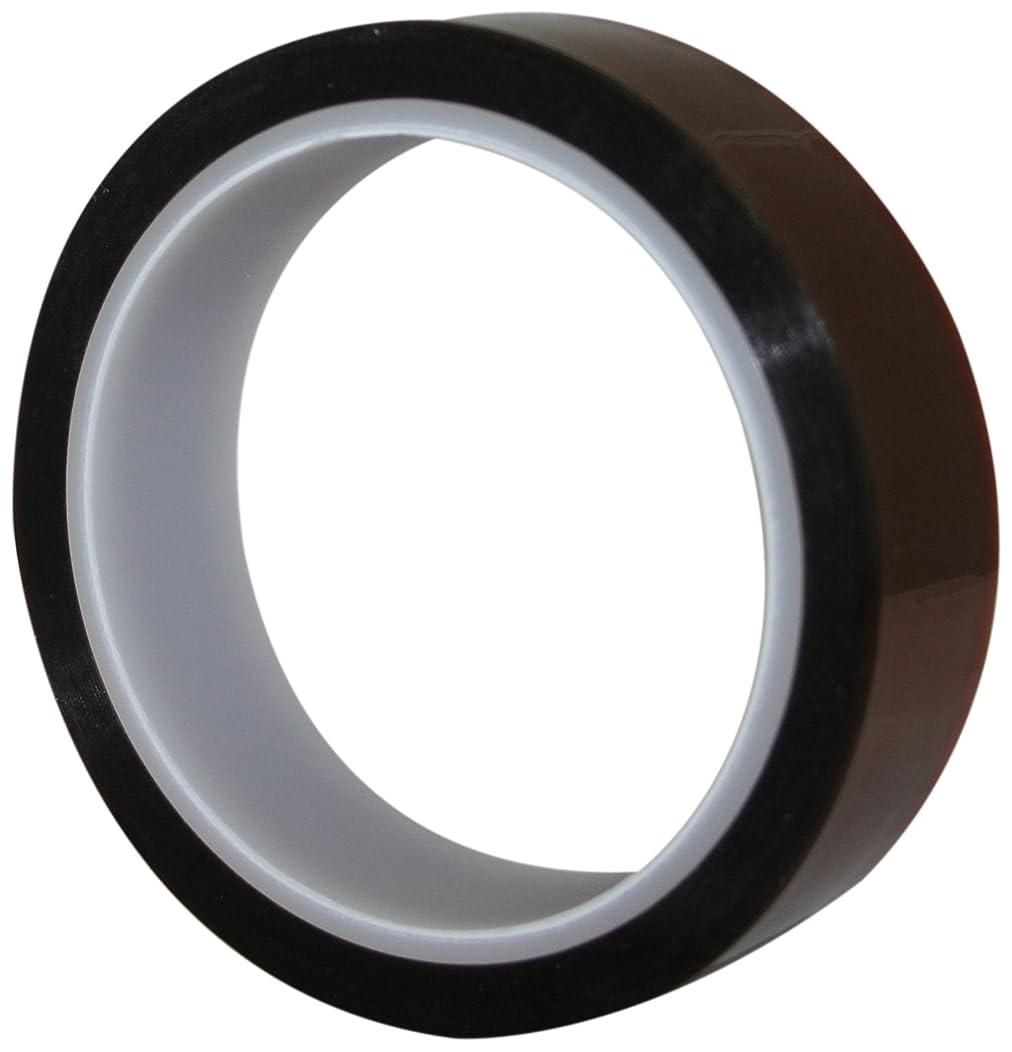 Maxi 828K Kapton Premium Grade Polyamide Film Tape with 1.5 mil Silicone Adhesive, 2.5 mil Thick, 36 yds Length, 3/4
