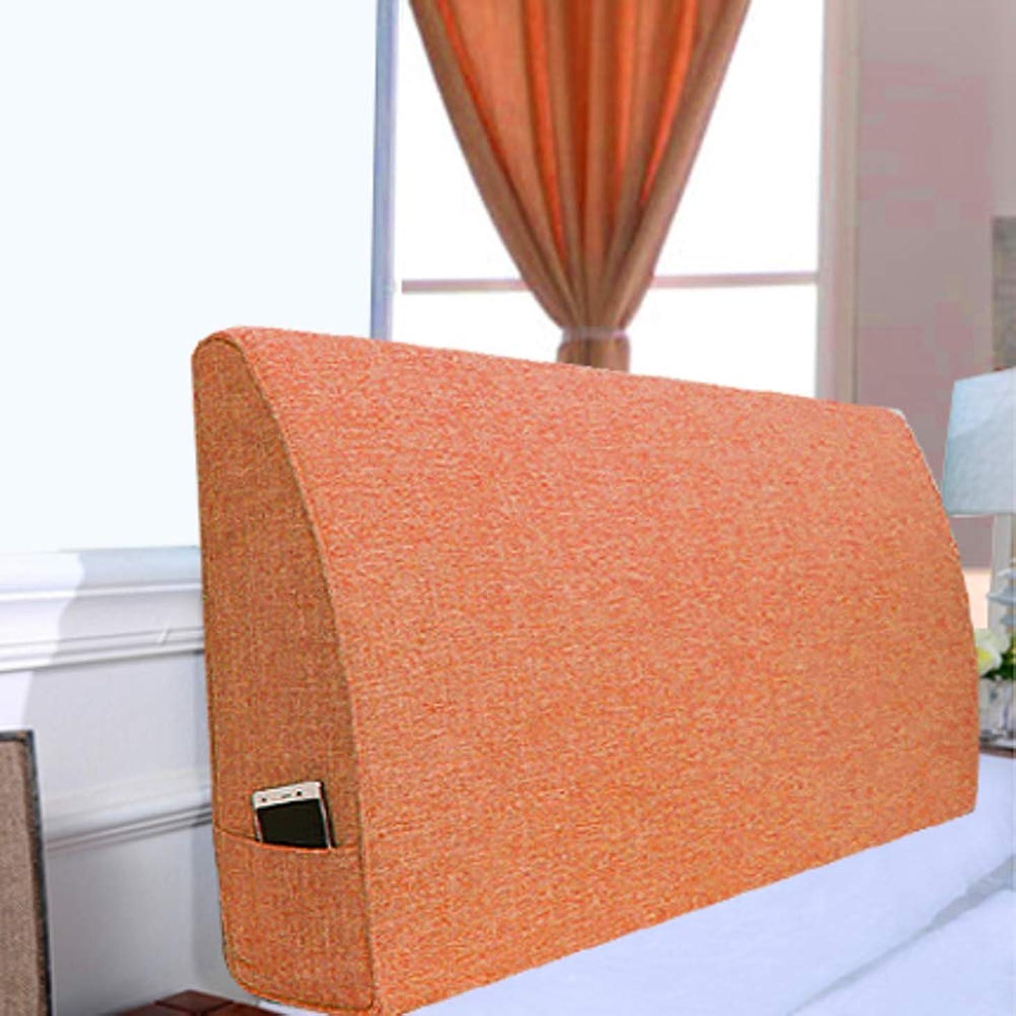 旅バスト不測の事態スポンジの充填 三角ヘッドボードバックレスト大型ウェッジベッドサイドバッククッション洗濯式ソフト布張りソファベッド-h