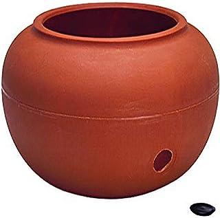 Garden Hose Pot/Planter - Terra Cotta