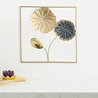 Home Centre Iliano Round Floral Wall Art - 30 x 30 cm