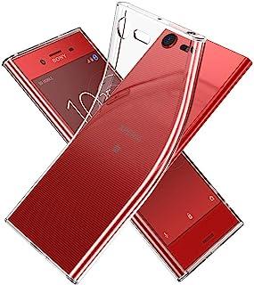 Youriad Xperia XZ Premium ケース カバー   透明 クリア ソフト   特徴 軽量 インチ 薄型 ストラップ 滑り止め ワイヤレス充電対応 落下防止 TPU (Xperia XZ Premium)