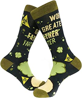 World's Greatest Farter Socks Funny Father's Day Footwear For Dad