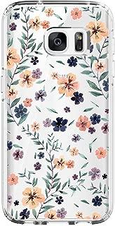 Samsung Galaxy S6 Case,Flower Clear Soft TPU Ultra Thin case Galaxy S6