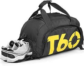 Travel duffel bag Fashion Foldable Bag Convertible Gym Bag Water Resistant 3 Ways CarrySports B