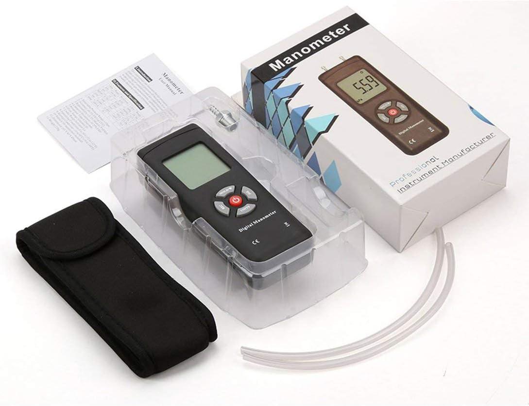 Swiftswan Pressure Meter,Digital Manometer Air Pressure Meter Portable Pressure Gauges Handheld U-Type Differential Pressure Meter