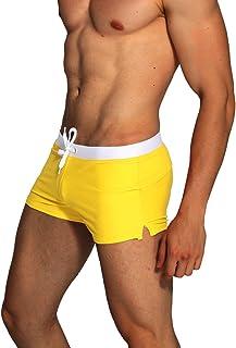 4c2aaad341 Amazon.fr : Jaune - Maillots de bain / Homme : Vêtements