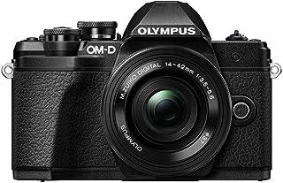 Olympus OM-D E-M10 Mark III Mirrorless Digital Camera [with 14-42mm EZ Lens] International Version - (Black)