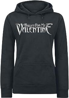 Ripleys Clothing Officiel Bullet for My Valentine Sweat /à Capuche Couronne de Roses Toutes Les Tailles