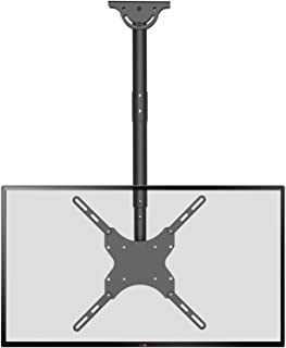 TV Ceiling Mount Adjustable Bracket Fits Most LED, LCD, OLED and Plasma Flat Screen Display 26 to 65 Inch, up to 110 Lbs, ...