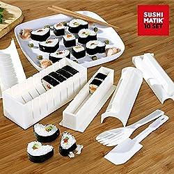 Sushi-Matik 10er Set Sushi Maker - Sushi in verschiedenen Formen