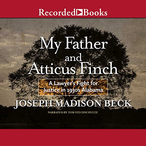 My Father and Atticus Finch audiobook cover art