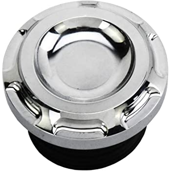 REBACKER Motorcycle CNC Aluminum Fuel Gas Tank Vented Decorative Oil Cap For Harley Touring Road King Softail Dyna Sportster XL 1200 883