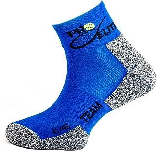 PRO ELITE complementos de padel, Calcetín Corto Pro Elite Team Azul Oscuro (Talla 41-45)