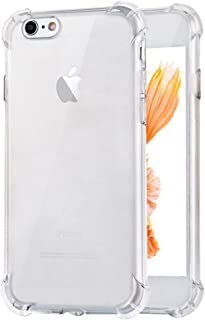 "TiYa Funda para iPhone 6 Plus Case y iPhone 6s Plus Funda 5.5"" Carcasa Bumper,Shock-Absorción Cover Clear TPU Transparente..."