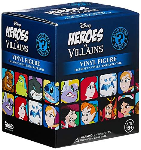 Mystery Mini: Disney: Héroes vs villanos: una figura al azar