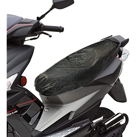 Kkmoon Motorrad Kissen Universal Sonnenschutz Sitzbezug Kappe Wasserdicht Staubdicht Roller Kissenbezug Sitz Silber Xl Auto